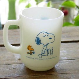 Fire King - Snoopy coffee break Mug