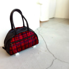 Jas M.B. - 50% Traveller / Pony Tartan Red / ¥40,950