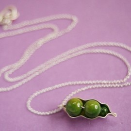 sudlow - Three Peas in a Pod Necklace