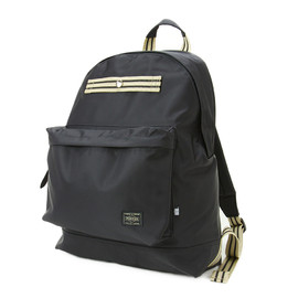 "HEAD PORTER - ""IVY"" DAY PACK BLACK"