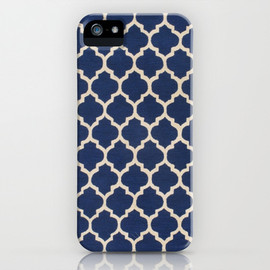 society6 - VINTAGE in NAVY iPhone & iPod Case