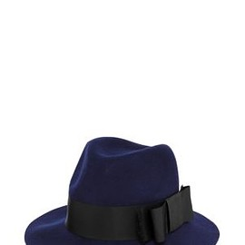 kate spade NEW YORK - CLASSIC FEDORA WITH GROSGRAIN TAB BOW