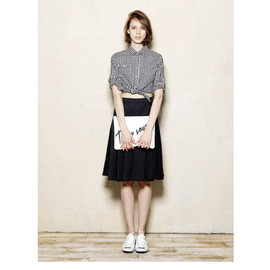 moussy - FLARED M/SK BLACK