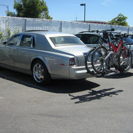 rolls royce - with bike