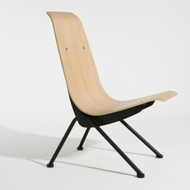 Lounge Chair and Footstool White - Designed by Charles & Ray Eames