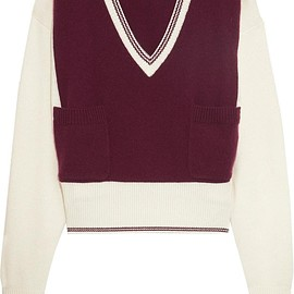 Chloé - Two-tone cashmere sweater