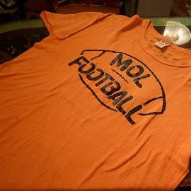 "Russell - 「<used>70's Russell ""COTTON100%""T-SHIRT orange""made in USA"" size:L 5800yen」完売"