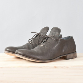 m.a+ - kangaroo leather silver-staple derby