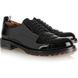VALENTINO - Formal patent-leather brogues