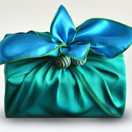 Gift Wrap...beautiful! At each place setting.
