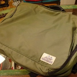 "GREGORY - 80's GREGORY 3WAY BAG moss""made in USA"""