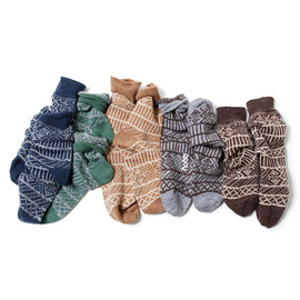 hobo - Wool Jacquard Socks