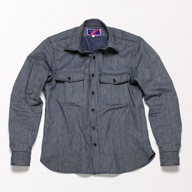 Best Made Company - The Indigo Dyed Japanese Work Shirt