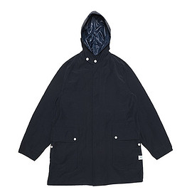 SASSAFRAS - Fall Leaf Bud Coat-60/40-Navy