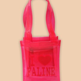 Faline - I LOVE FALINE BAG (CLEAR PINK)