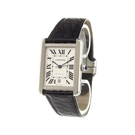Cartier - 'Tank Solo' analog watch