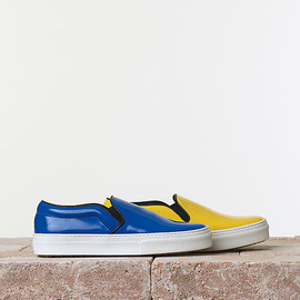 CELINE - skater slip on shoes Blue
