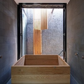 "Jessica Liew - Bathroom at ""the new old"" House, Melbourne, Australia"