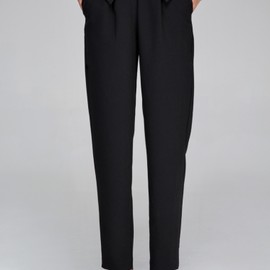 Front Row Shop - Trousers in Straight Leg with Cuffed Waist