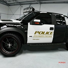 Ford - F150 POLICE TRUCK