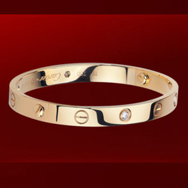 Cartier - Love Bracelet in Pink Gold and Diamonds