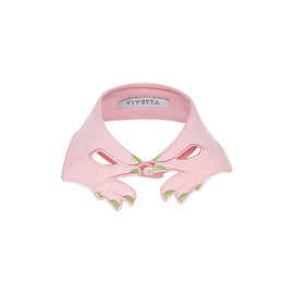 VIVETTA - Pink Hands Collar With Green Nails