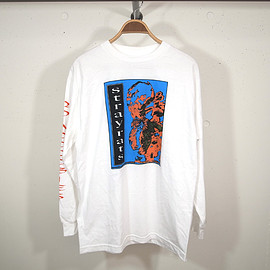 STRAY RATS - Indian Dance Longsleeve White