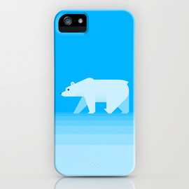 Society6 - Polar Bear iPhone & iPod Case by Tamer Koseli
