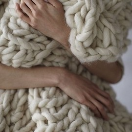 Knit Chunky Blanket