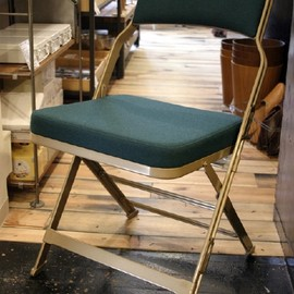 Wood/Metal Folding Chairs