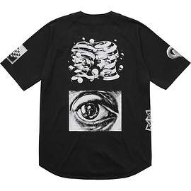 Supreme - M.C. Escher Cotton Baseball Jersey