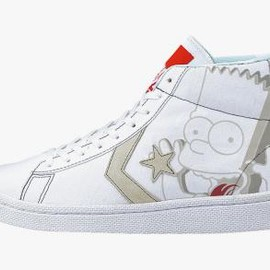 CONVERSE - THE SIMPSONS × XLARGE × CONVERSE XL PRO LEATHER CANVAS HI