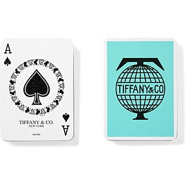 TIFFANY&Co. - Travel Two-Pack Playing Cards - Aqua