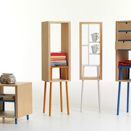 Tommaso Bistacchi - Obi occasiona table and storage unit