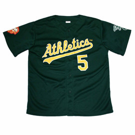 VINTAGE - Oakland Athletics #5 Matt Holliday Promotional Jersey Mens Size XL
