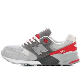 New Balance - ML999GFR GREY FIRE RED 999 cncpts kennedy solebox 1300 ronnie fieg
