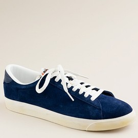 NIKE - R for J.Crew Vintage Collection suede Tennis Classic AC sneakers