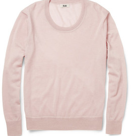 Acne -  Justice Low-Neck Cashmere Sweater