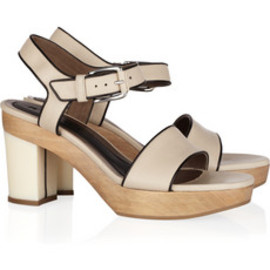 Marni  - Leather clog sandals