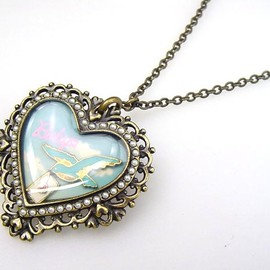 BABY,THE STARS SHINE BRIGHT - Necklace bird letter love