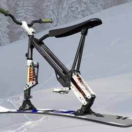"Mark MacMahon - ""Omo,"" the ski-bike"