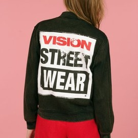 Chloe Sevigny for Opening Ceremony - vision denim bomber