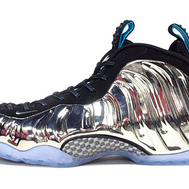 "NIKE - AIR FOAMPOSITE ONE AS QS ""MIRROR"" ""2015 NBA ALLSTAR GAME/NEW YORK"" ""LIMITED EDITION for NONFUTURE"""
