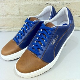 Alexander McQUEEN and PUMA - Men's Street Climb II Lo Shoes Sneakers Blue