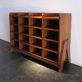 Shelf for magazines, ca1960