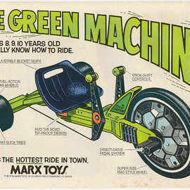 Marx Toys - The Green Machine