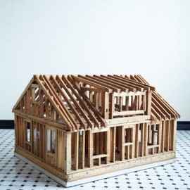 COMPLEX - WOODEN HOUSE MODEL