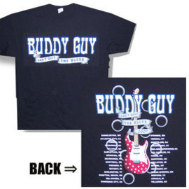 BUDDY GUY / CAN'T QUIT 2009 TOUR  T-Shirts Tシャツ バディ ガイ