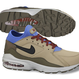 Nike - Air Max 93 - Beige/Blue
