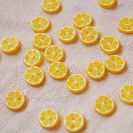 sunomoto - button / lemon